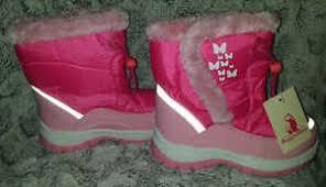 s cold weather boots size 12 youth rugged cold weather boots size 12 pink white