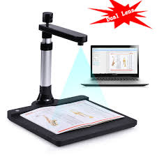 scanner de bureau rapide 10 méga pixel hd a3 document scanner ocr éra documents livre