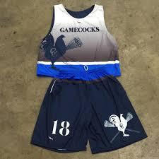 Gamecock Flag Gamecocks Lacrosse Uniform Design Team Lax Uniforms