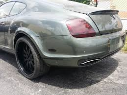 bentley rear 2005 2011 bentley continental gt ss style rear bumper cover w flares