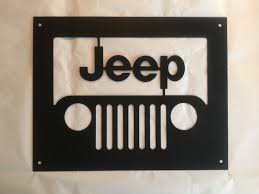 jeep grill drawing metal jeep grill wall silhouette 12 x 15