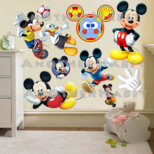 mickey mouse wall decals etsy color the walls your house mickey mouse wall decals etsy picture frames displays vases