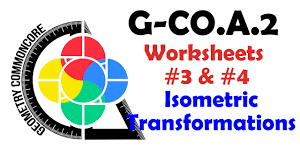 g co a 2 worksheets 3 u0026 4 isometric transformations youtube