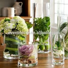 Buy Glass Vases Online Cheap Glass Flower Vase Clear Cylinder Wedding Vases For Wholesale
