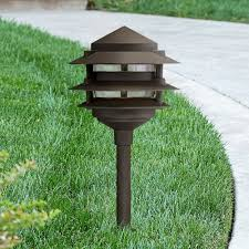 Led Landscape Lighting Low Voltage by Three Tier Pagoda 19 1 4