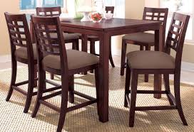 dining room counter height kitchen table beautiful tall dining