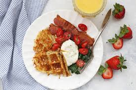 waffle hash browns one lovely life