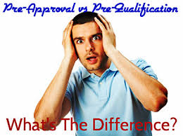 difference between mortgage pre approval vs pre qualification