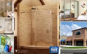 glass storefront shower doors alumax crl laurence