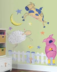 Non Permanent Wallpaper Baby Nursery Decorative Wall Stickers As Nursery Decorations
