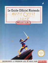 le guide officiel nintendo mystic quest legend final fantasy