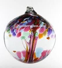 blown glass tree of