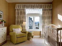 Nursery Valance Curtains Nursery Valance And Curtains Contemporary Nursery Palmer Weiss