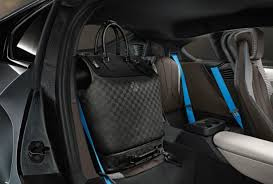 I8 Bmw Interior Louis Vuitton Rolls Out Custom Luggage To Match Bmw I8 Plug In