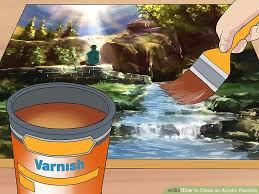 3 ways to blend acrylic paint wikihow 3 ways to clean an acrylic painting wikihow