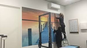 how to install a wall mural the easy way wallsauce peel u0026 stick