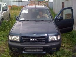 2001 opel frontera photos 2 3 diesel manual for sale