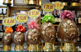 italian easter egg chocolate eggs in italy celebrating easter italian style