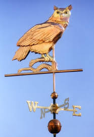 Design For Antique Weathervanes Ideas Great Horned Owl Weather Vane By West Coast Weather Vanes The