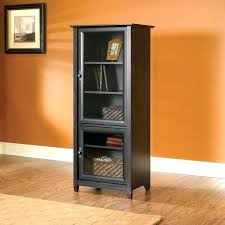 Multimedia Cabinet With Glass Doors Sauder Storage Tower Cabinets My Review Of Multimedia Storage