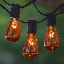 Edison Bulb Patio String Lights Vintage C9 Bulb U0026 String Lights Bright Ideas Partylights Com