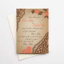 coral springs wedding invitations