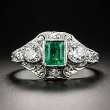 unique vintage gemstone engagement rings lang antiques