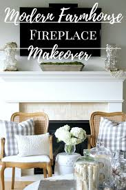 fireplace mantel makeover chic california