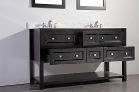 Legion Bathroom Vanity by Legion 60 Inch Double Sinks Bathroom Vanity Set Espresso Finish