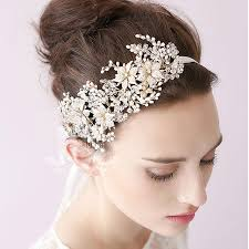 hair ornaments baroque bridal hair accessories wedding gold crown and tiara