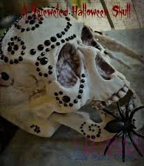 a bejeweled halloween skull celebrate u0026 decorate