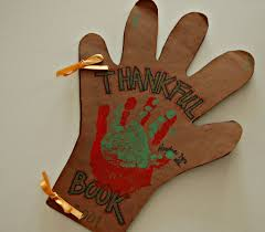 thankful hands book for kids thanksgiving craft thanksgiving