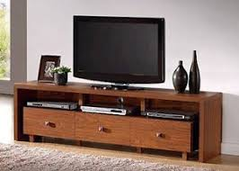 Entertainment Storage Cabinets Walnut Wood Tv Stand Modern Home Furniture Cabinet Entertainment