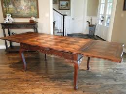 Country French Dining Room Tables Lovely Parquet Top Antique French Country Oak Dining Table With
