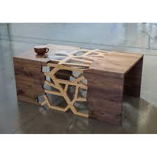 handmade wood coffee table handmade organic wood mosaic coffee table dotandbo com my living