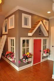 Ideas For Kids Playroom Best 25 Indoor Playhouse Ideas On Pinterest Kids Indoor