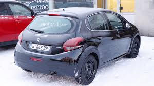 peugeot 208 sedan all new peugeot 208 makes spy photo debut
