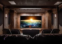 Media Rooms - home theater and meda room audioworks inc private home