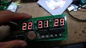 membuat jam digital led besar cara mudah membuat jam digital seven segment youtube