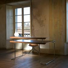 Contemporary Desk by Wooden Desk Steel Contemporary For Hotels Steno Caimi