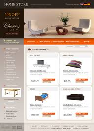 Kitchen Furniture Online Shopping Website Template 15472 Home Store Furniture Custom Website