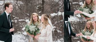 wedding photographer denver avalanche ranch winter elopement denver wedding photographer