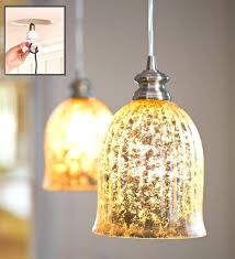 Mini Shade Chandelier Mercury Glass Pendant Light Fixture With Lamp Shade Pro And 8 5 On