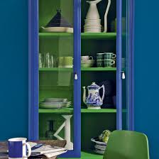 Green And Blue Kitchen Green And Blue Colour Schemes Home Trends Ideal Home