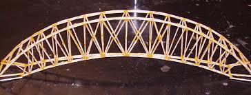 toothpick truss bridge places to visit pinterest bridge