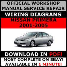 primera nissan car service u0026 repair manuals ebay