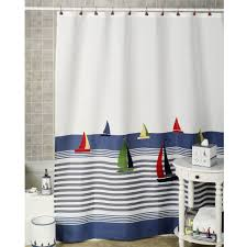 Sailboat Shower Curtains Sailboat Shower Curtain Hooks Shower Curtains Design