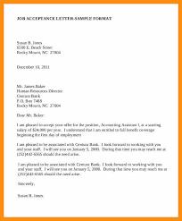 doc 600730 job acceptance letter u2013 job acceptance letter 6 free