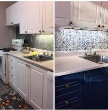 blue chalk paint kitchen cabinets a napoleonic blue the purple painted