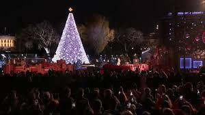 obama lights national christmas tree for final time video abc news